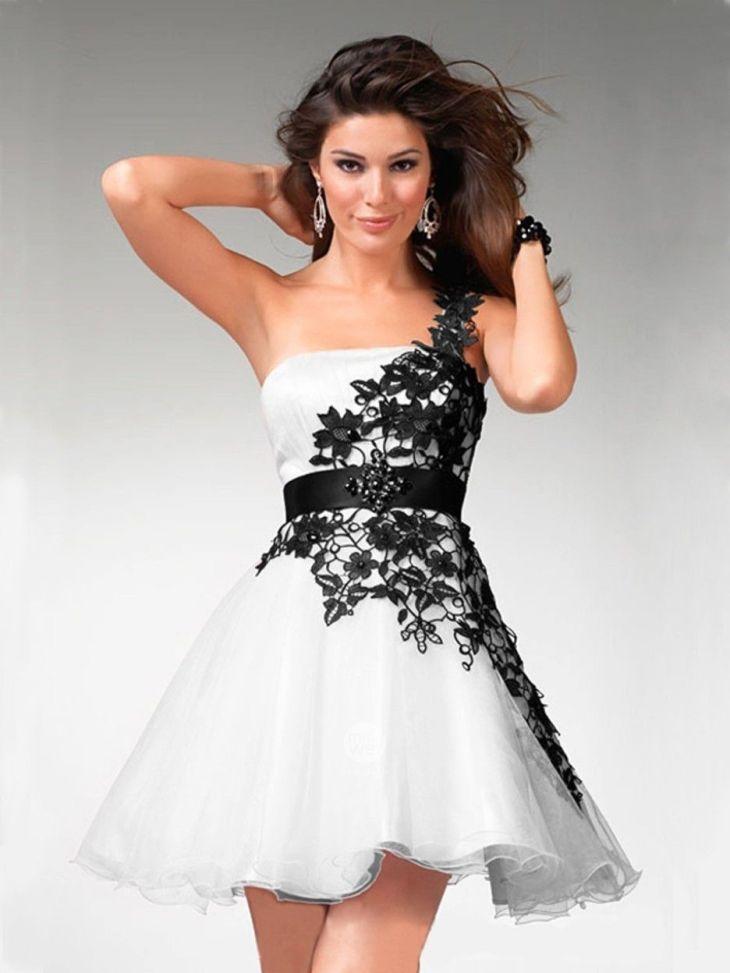 Short White Prom Dresses Inspiration For Elegant Style Pretty Short