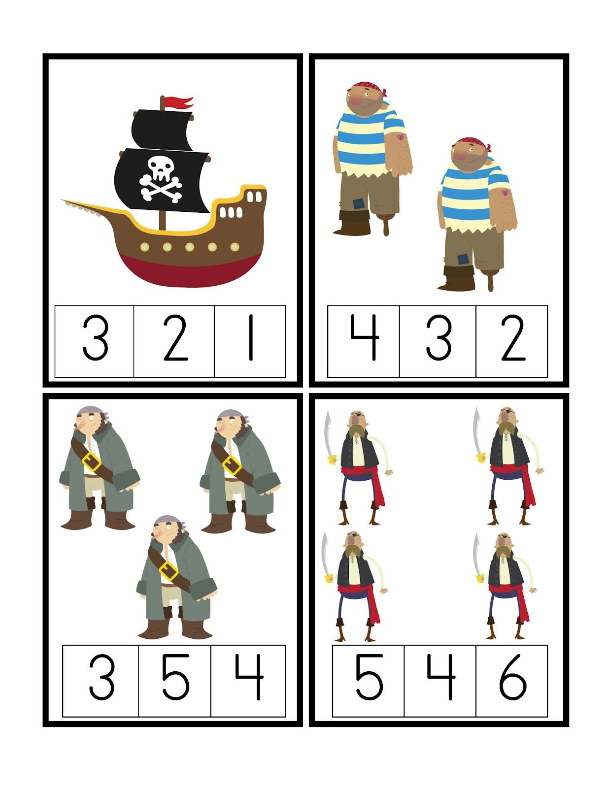 Printables Pirate