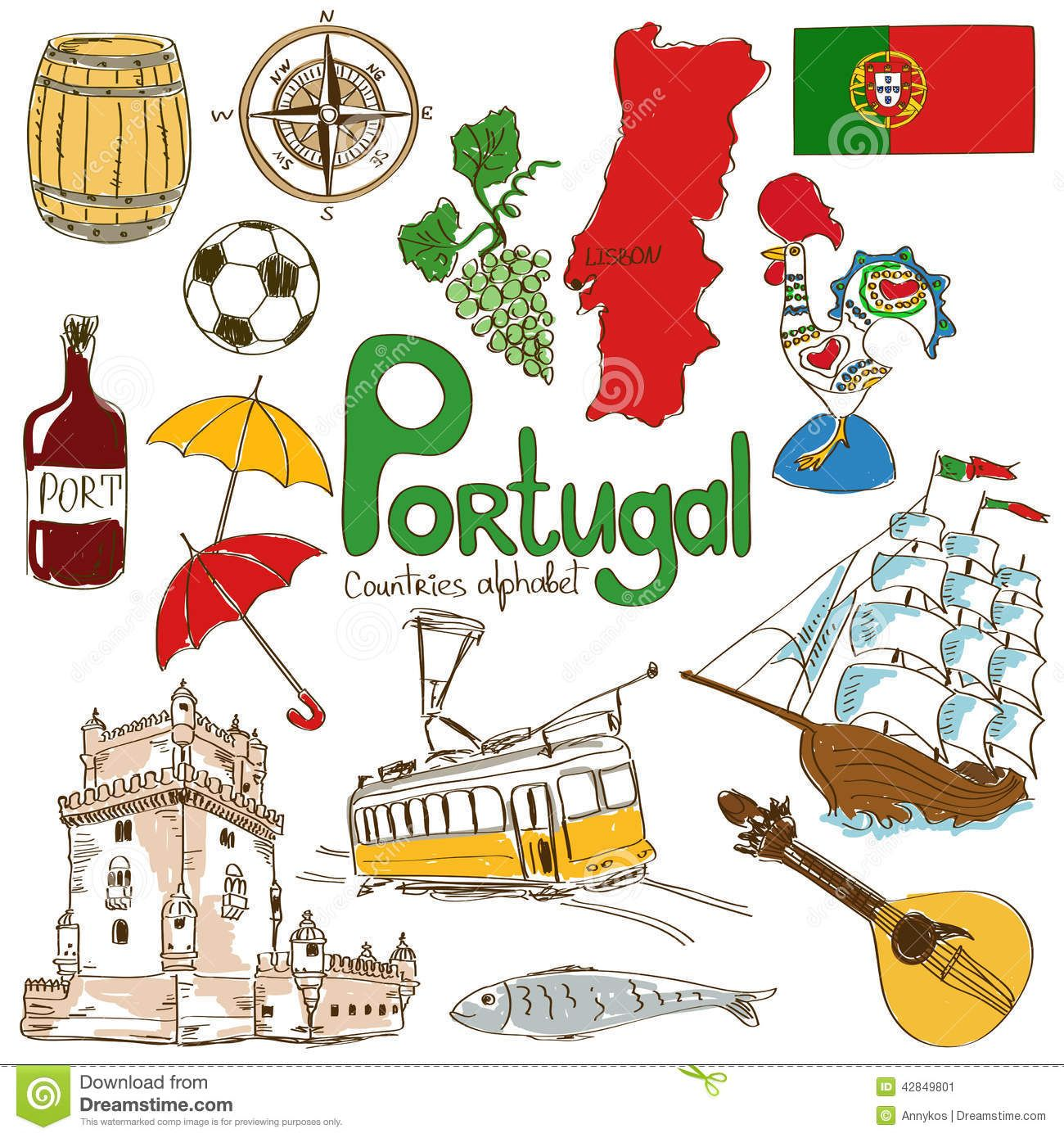 Collection D Icones Du Portugal