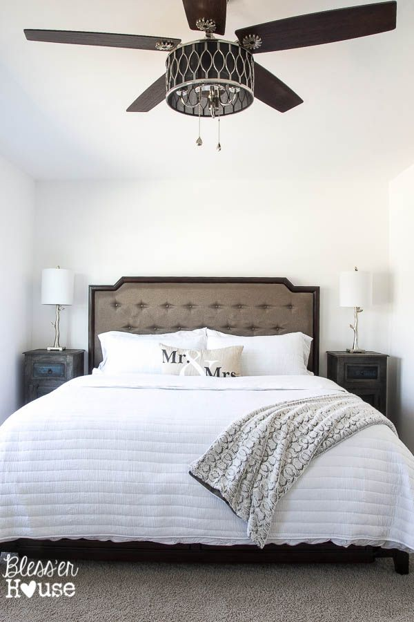 10 stylish non-boring ceiling fans | ceiling fan, master bedroom
