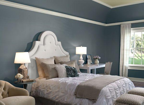 Bedroom Ideas Inspiration White Dovesbedroom Colorsbedroom Ideaspurple Bedroomswhite Bedroomspurple Paintblue Gray