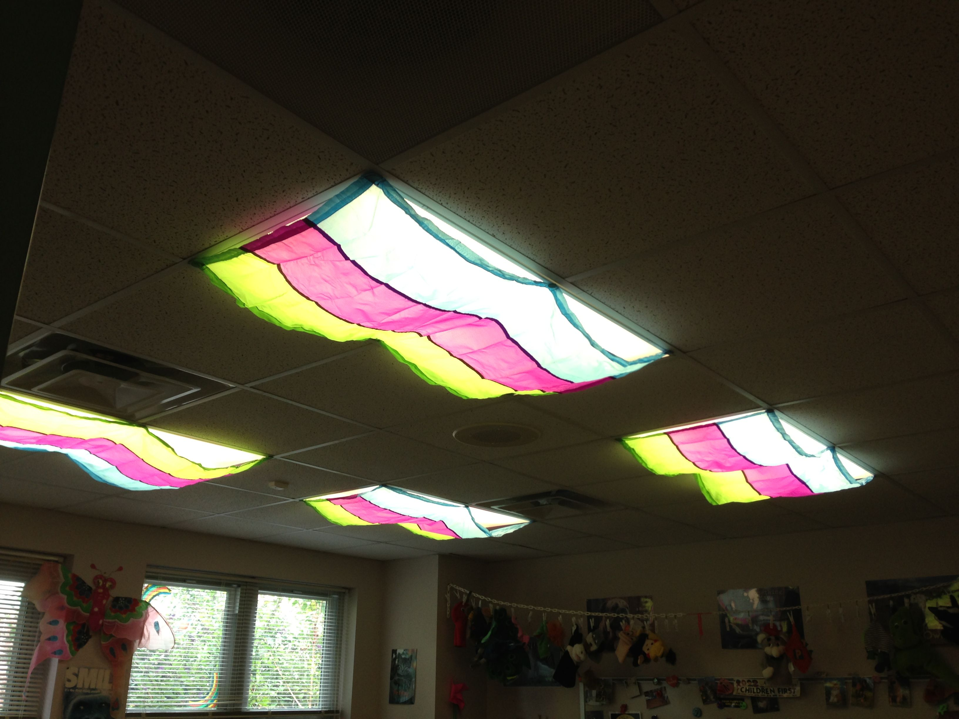 I Love These Classroom Light Filters For Covering My