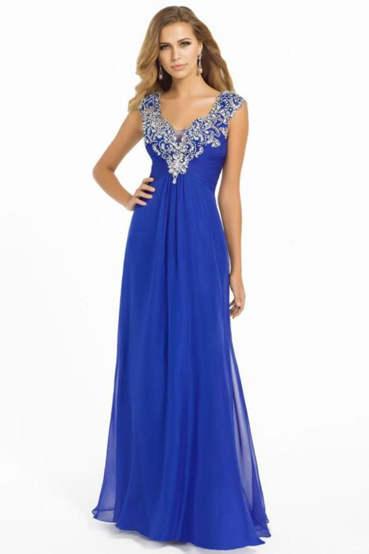 Shop Graceful Prom Dress V Neck Off The Shoulder Chiffon Floor