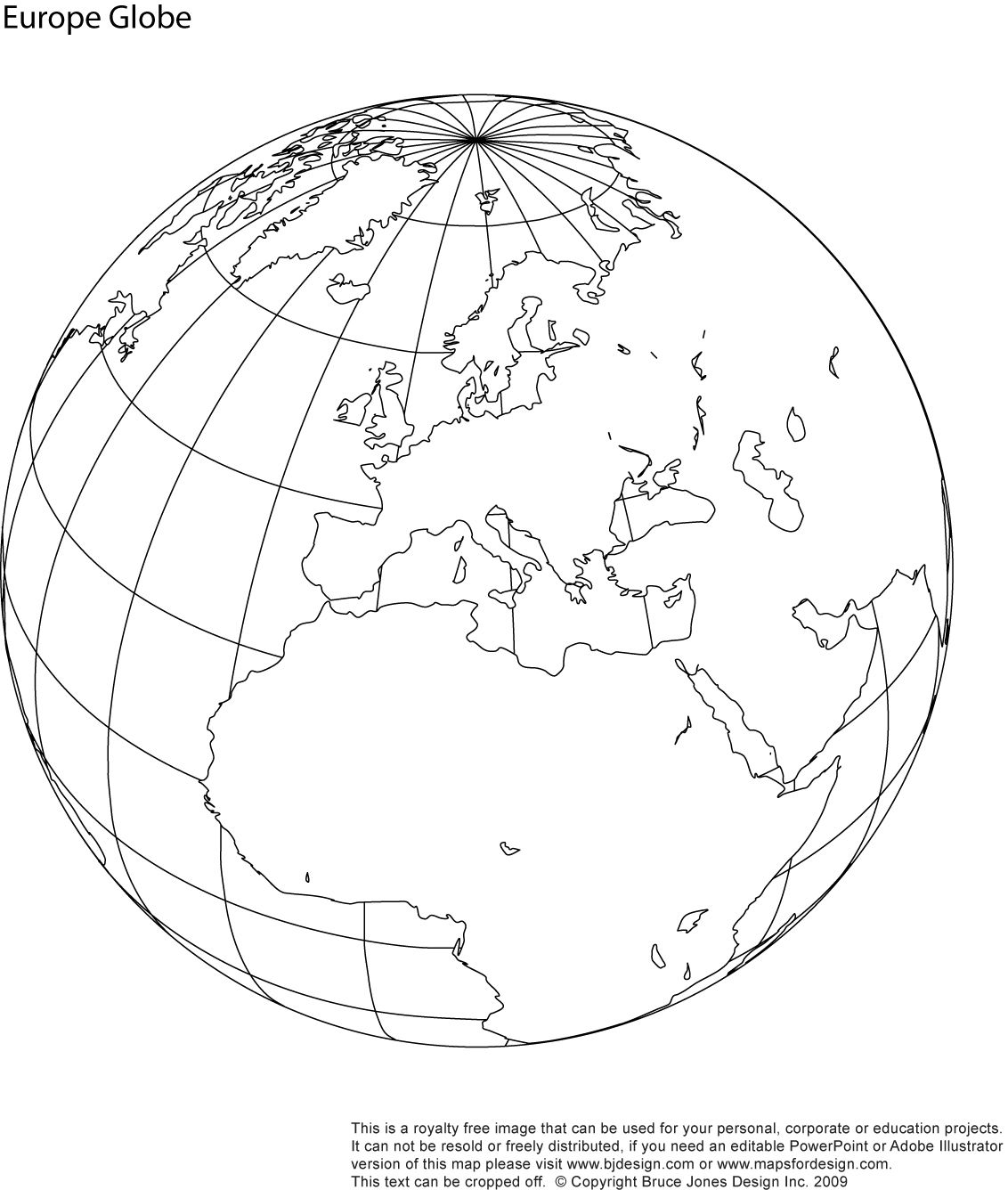 World Globe Showing North America Download And Use For