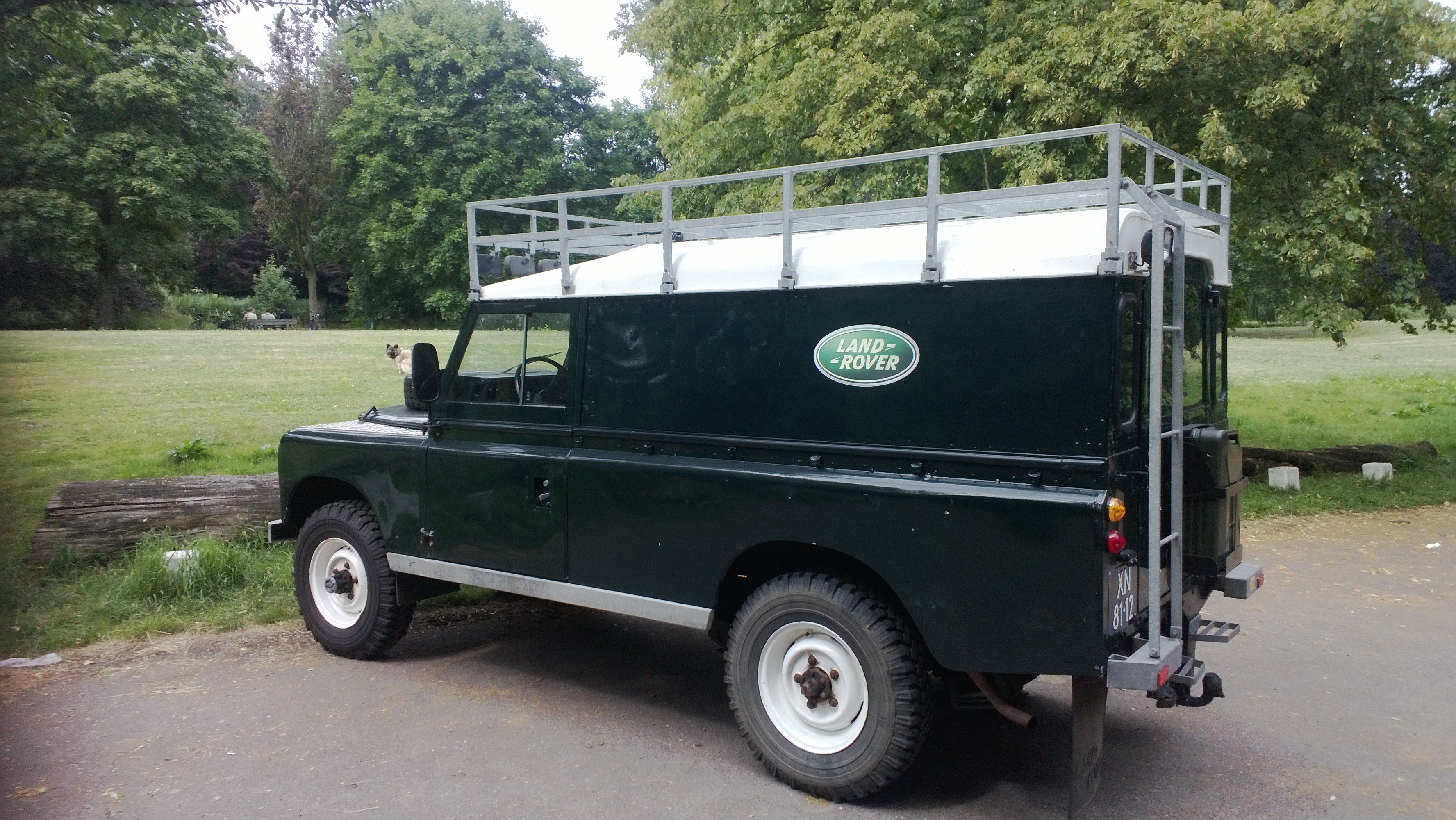 My Land Rover 109 series 2 Land Rover Pinterest