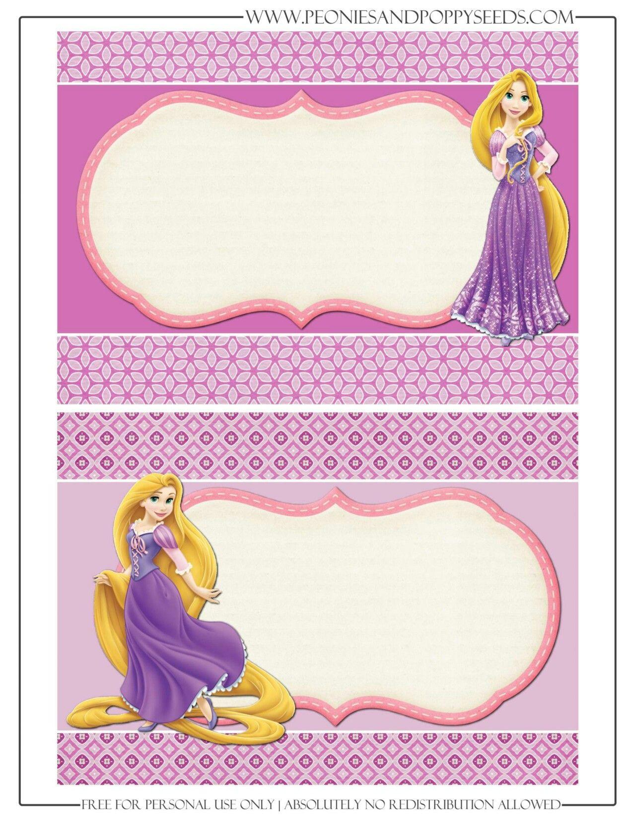 Invitacion Rapunzel