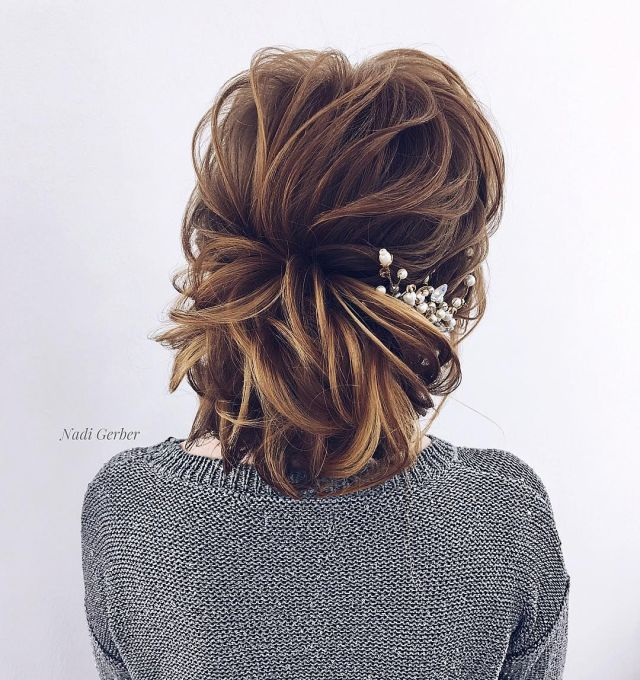 gorgeous wedding hair from ceremony to reception - fabmood