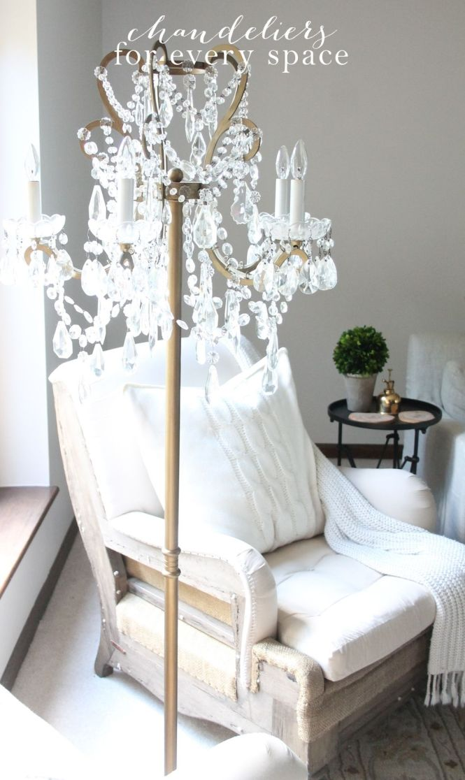 A Roundup Of Gorgeous Chandeliers Including Floor Lamps Plug