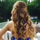 Half uphalf down hairstyles for long hair for your curly tresses