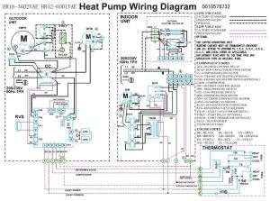 Trane Heat Pump Wiring Diagram | Heat pump pressor Fan