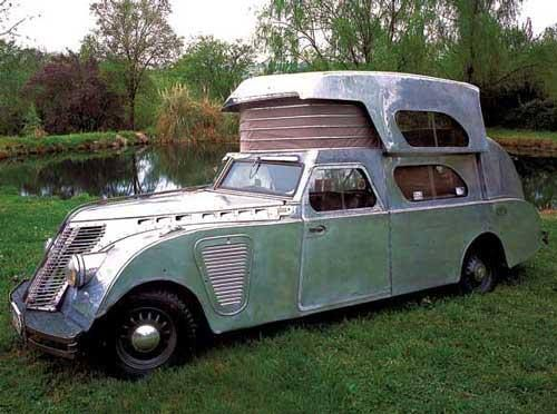 This Is An Early House Car Designed In The Mid 1920s By