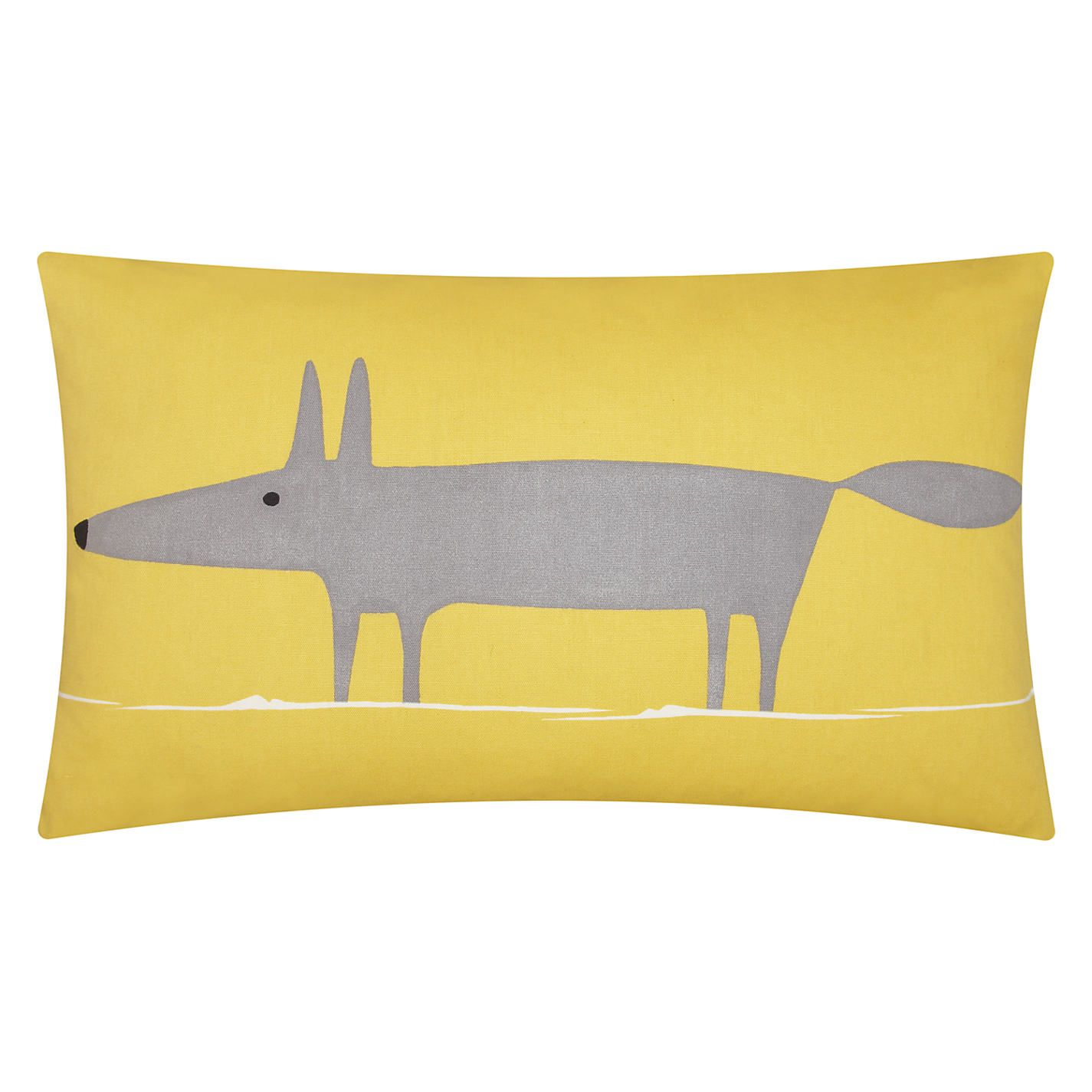 Scion Mr Fox Cushion John Lewis Mustard Cushions And
