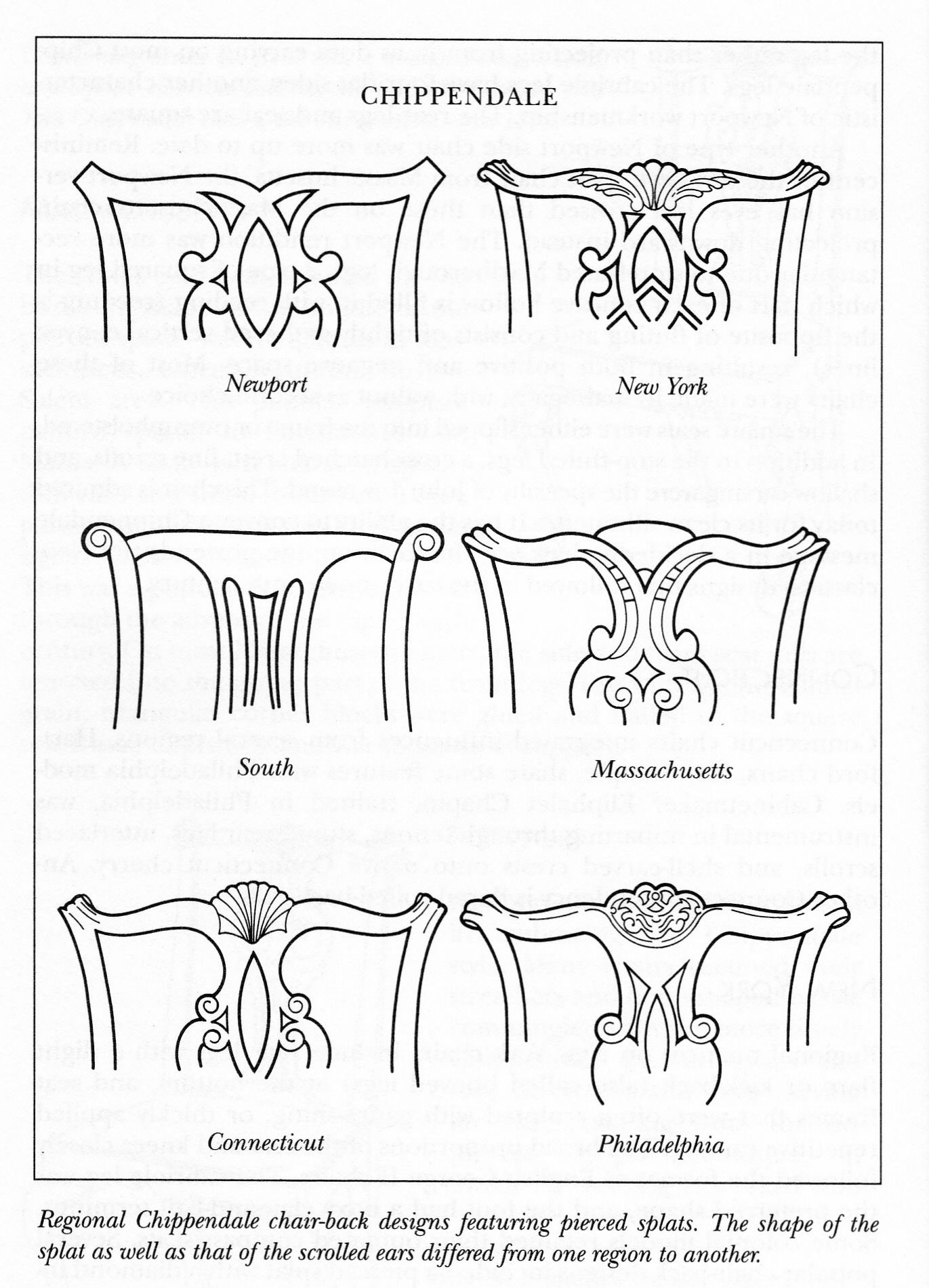Chippendale Chair Back Designs