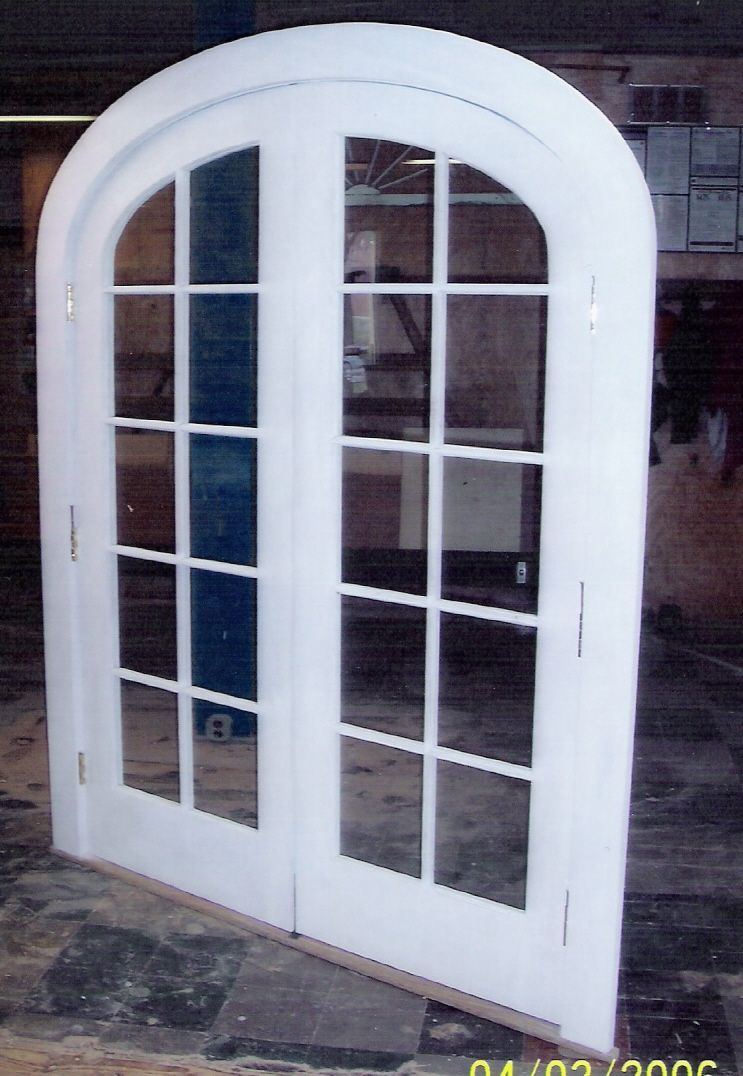 Arch Top Doors Custom Madebuilt Wood Interior Exterior
