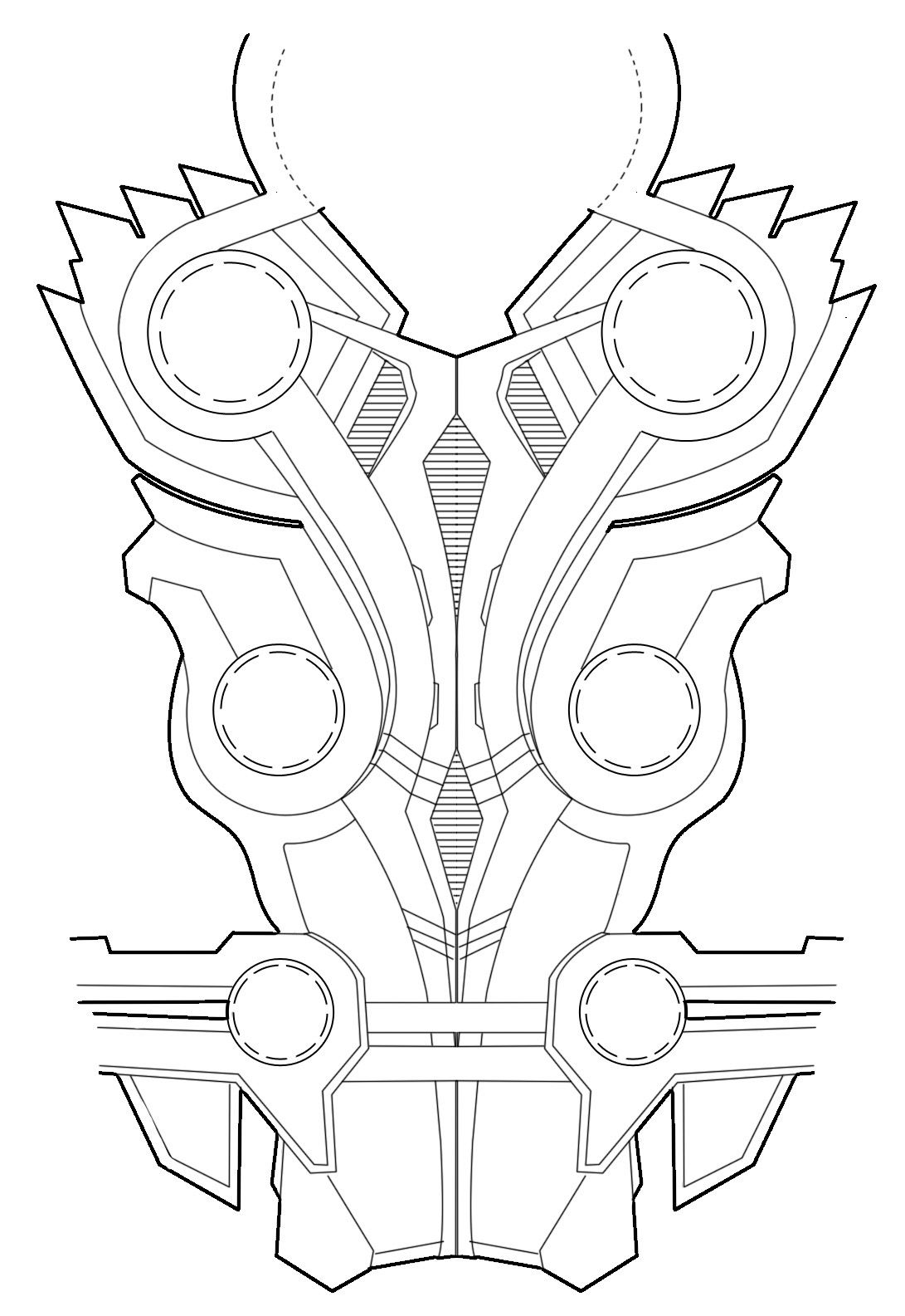 Thor Avengers Budget Foam Armour Tumblr