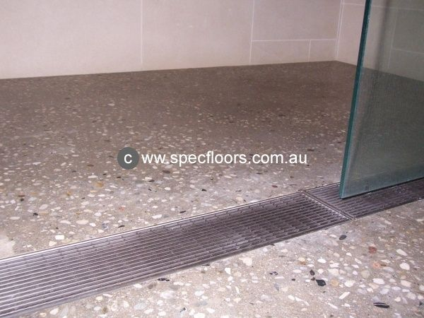 Polished Concrete Shower Floor Google Search Polished