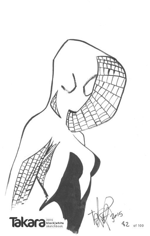 spidergwenmarcio takara  marvel/dc/image/dark horse