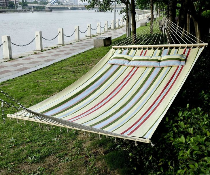 ad I love the summer stripe on this hammock would really like to