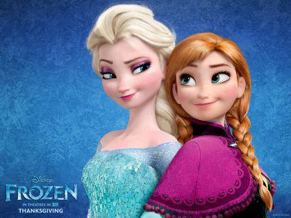 Elsa e Anna, le due sorelle di Frozen
