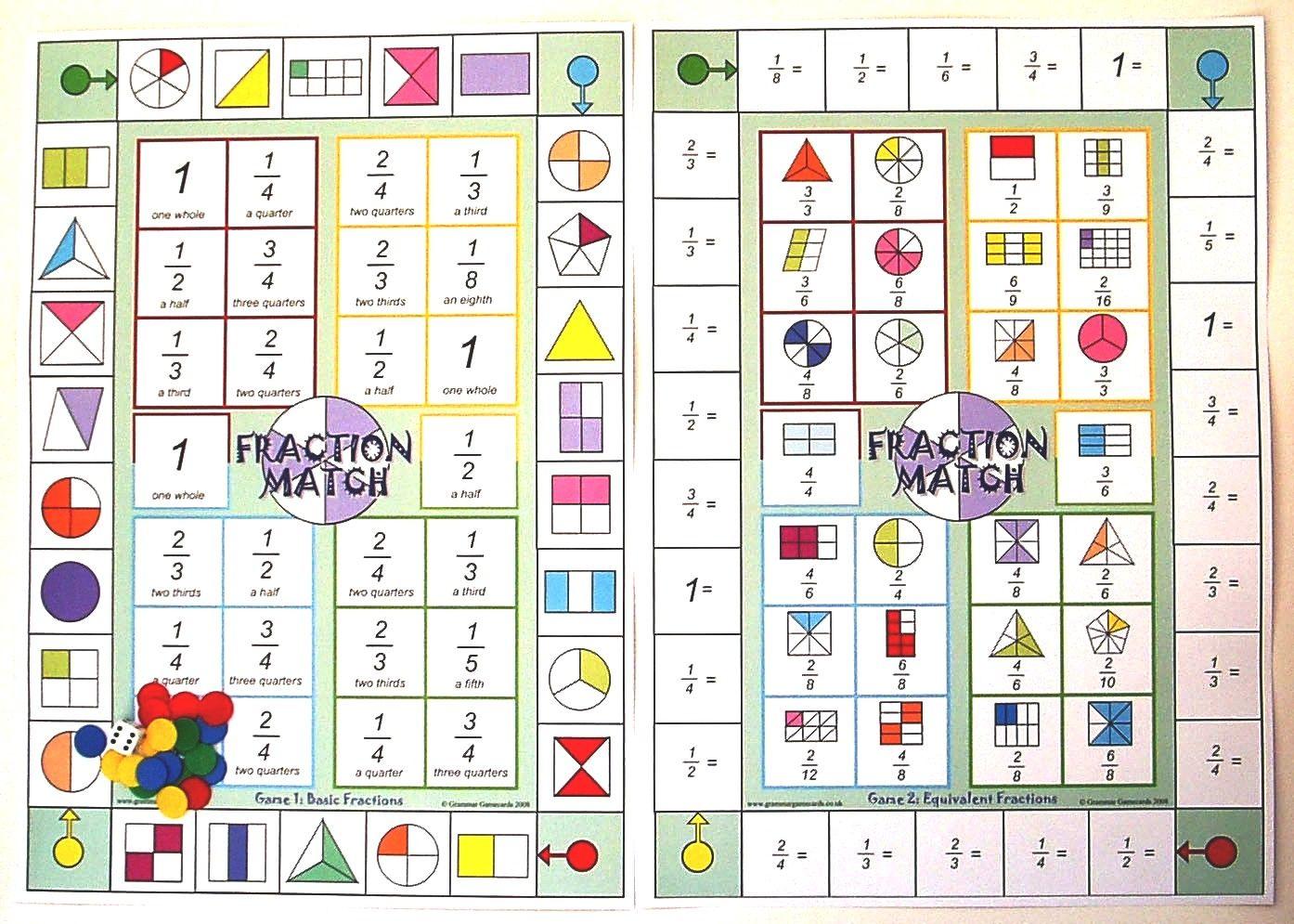 Math Worksheet Site Fractions