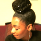 Updo hairstyles natural hair styles pinterest hair style