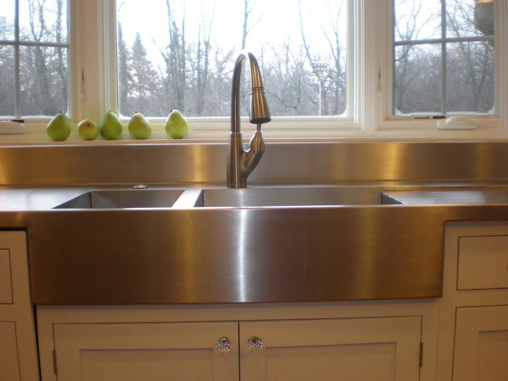 we love our new stainless steel countertop and sinks thanks amy home hacks pinterest on kitchen sink id=86305