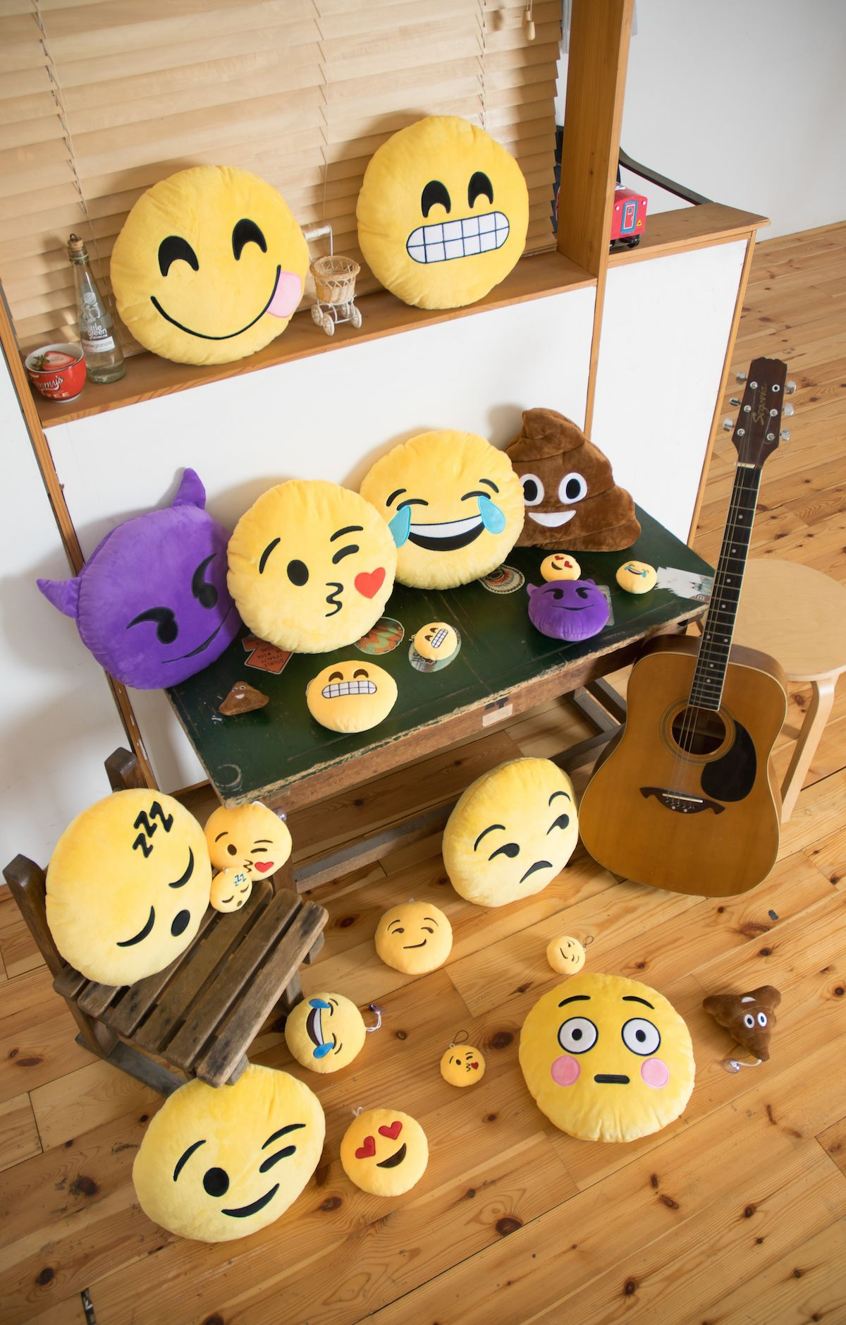Emoji Pillows Emoji Accessories Emoji Toys And More