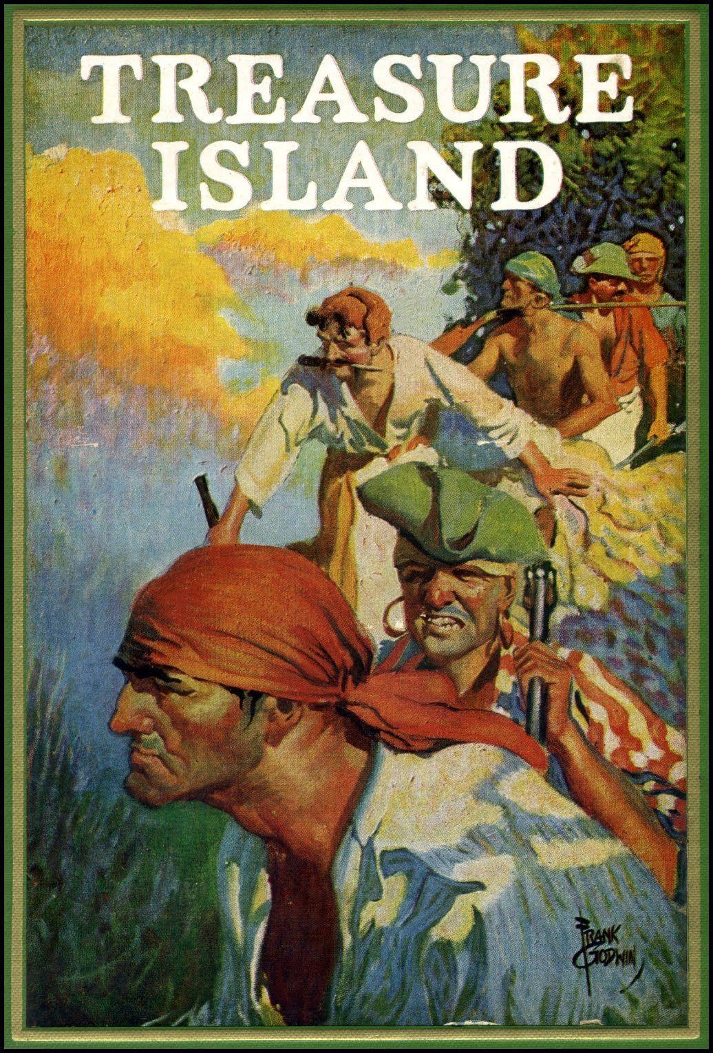 Treasure Island By Robert Louis Stevenson Cover By
