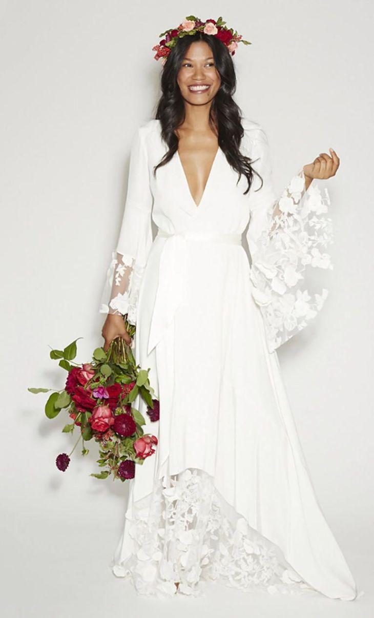 Bridechilla Style Shop This Laid Back Bridal Trend Stone fox
