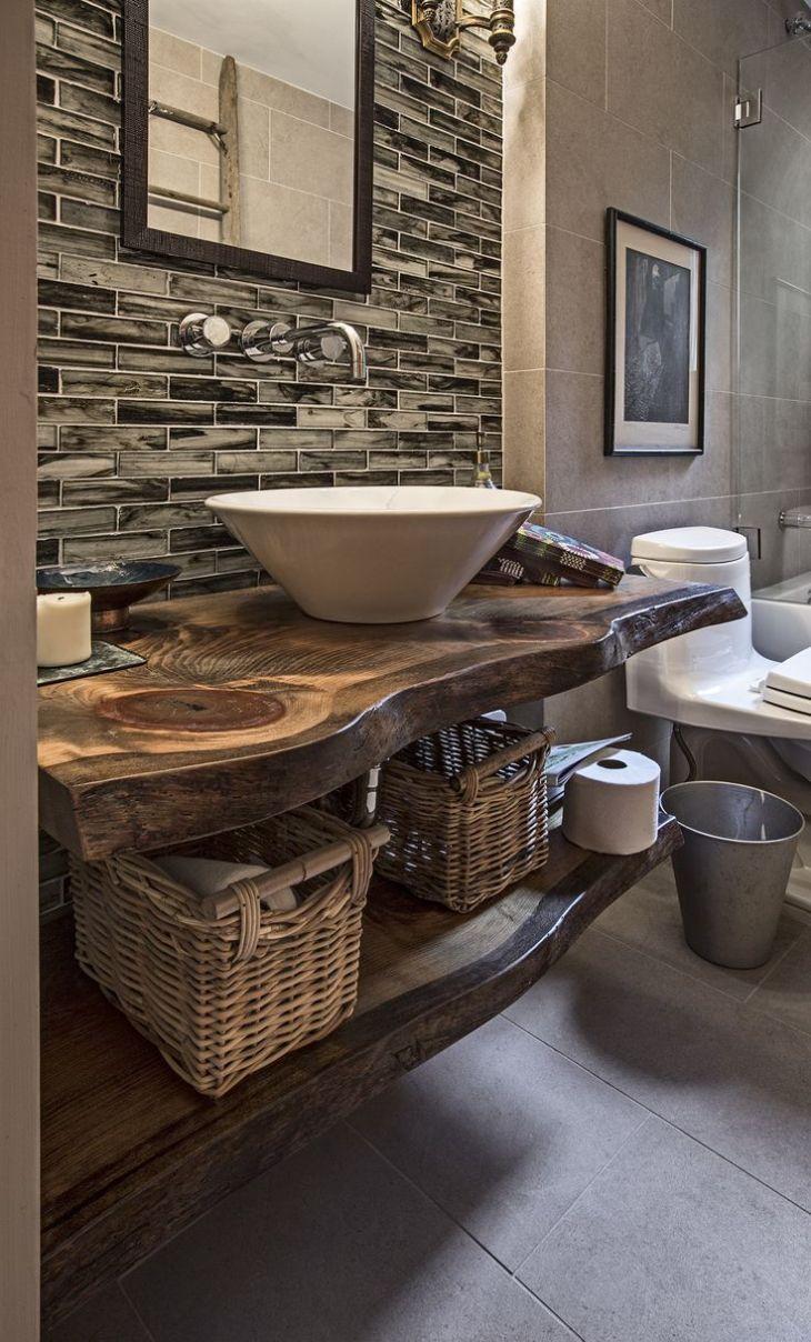 ideas about Rustic Bathroom Vanities on Pinterest Rustic