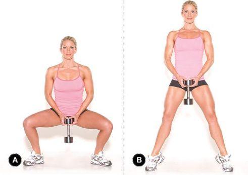Image result for Sumo squat calf raises