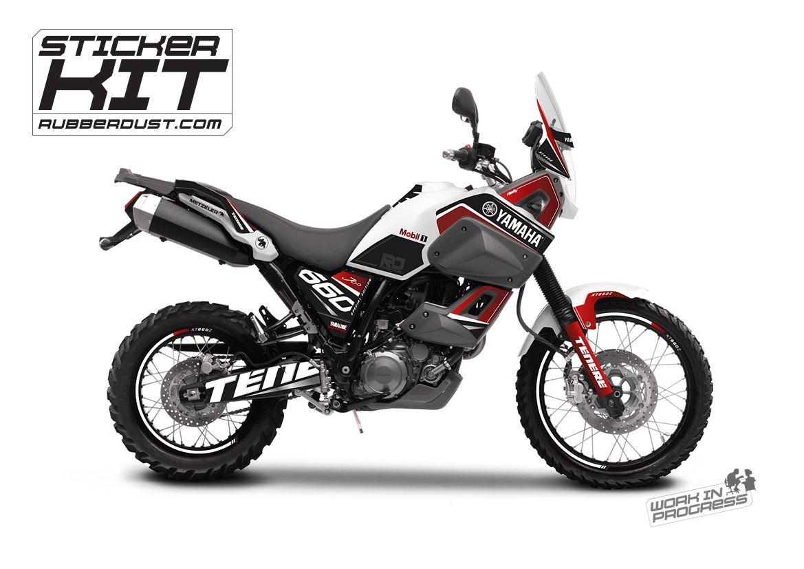 Stickerset For The Yamaha Tenere Xt660z