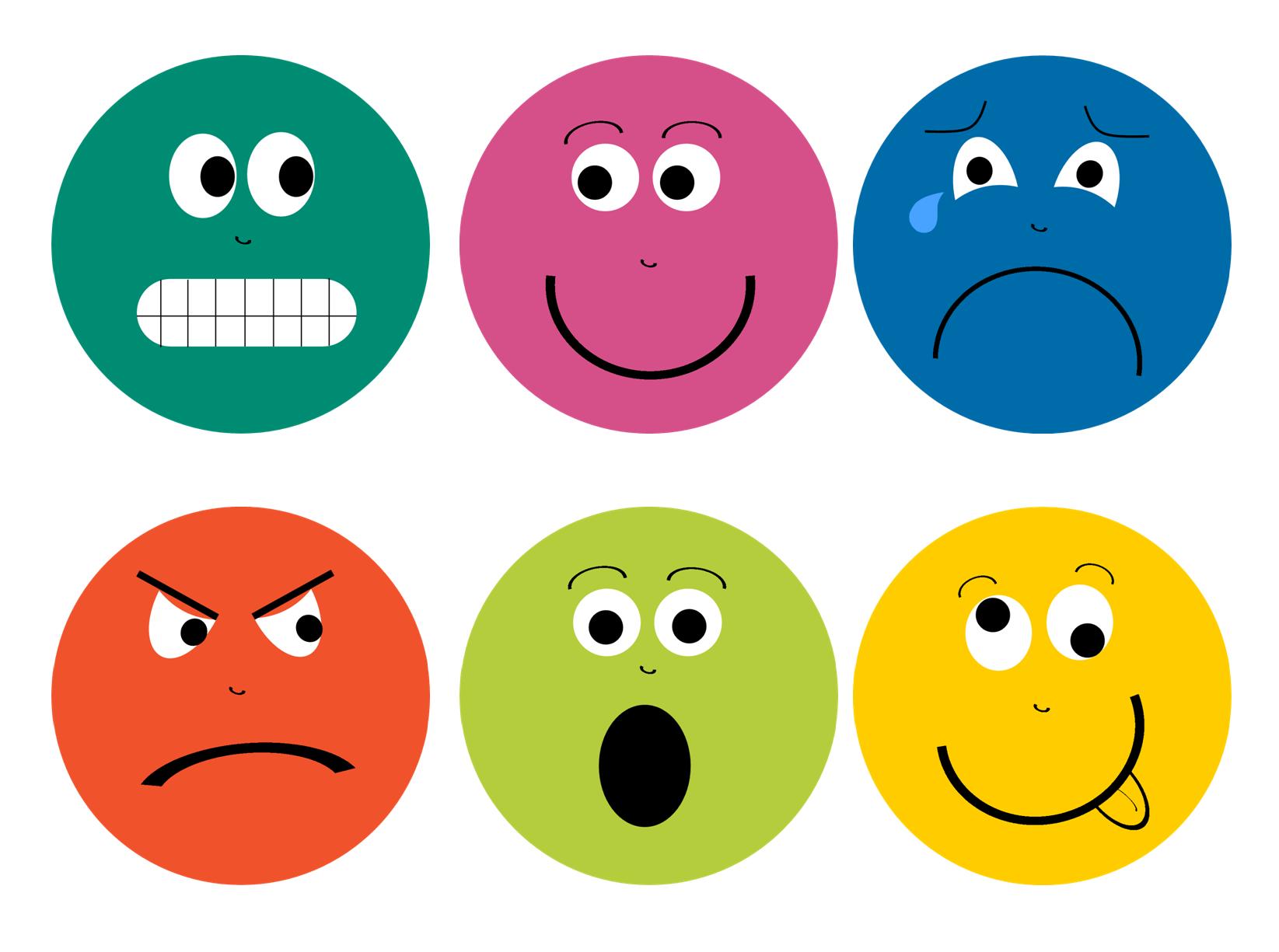 Feelings Faces Printable