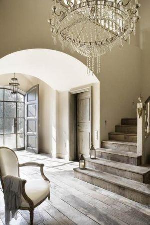 Chandelier In Home Entrance Staircase Via Mylusciouslife Jpg