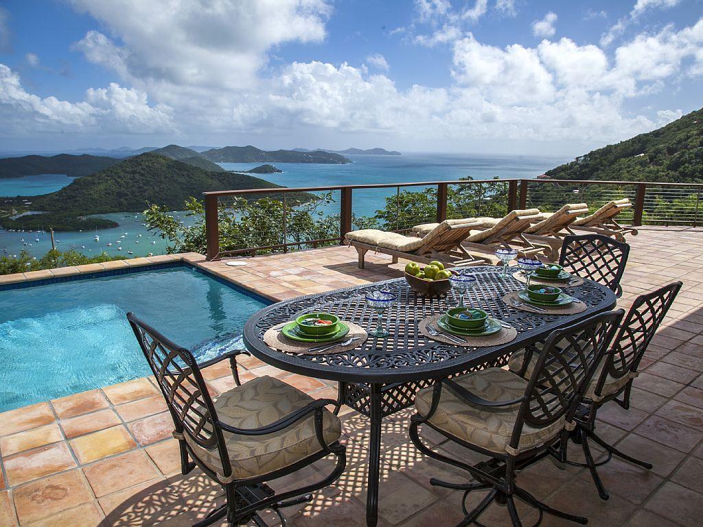 Best Kitchen Gallery: Casa Yaya Breathtaking Views From This St Vrbo To Venture To of Villas For Rent St John Usvi  on rachelxblog.com