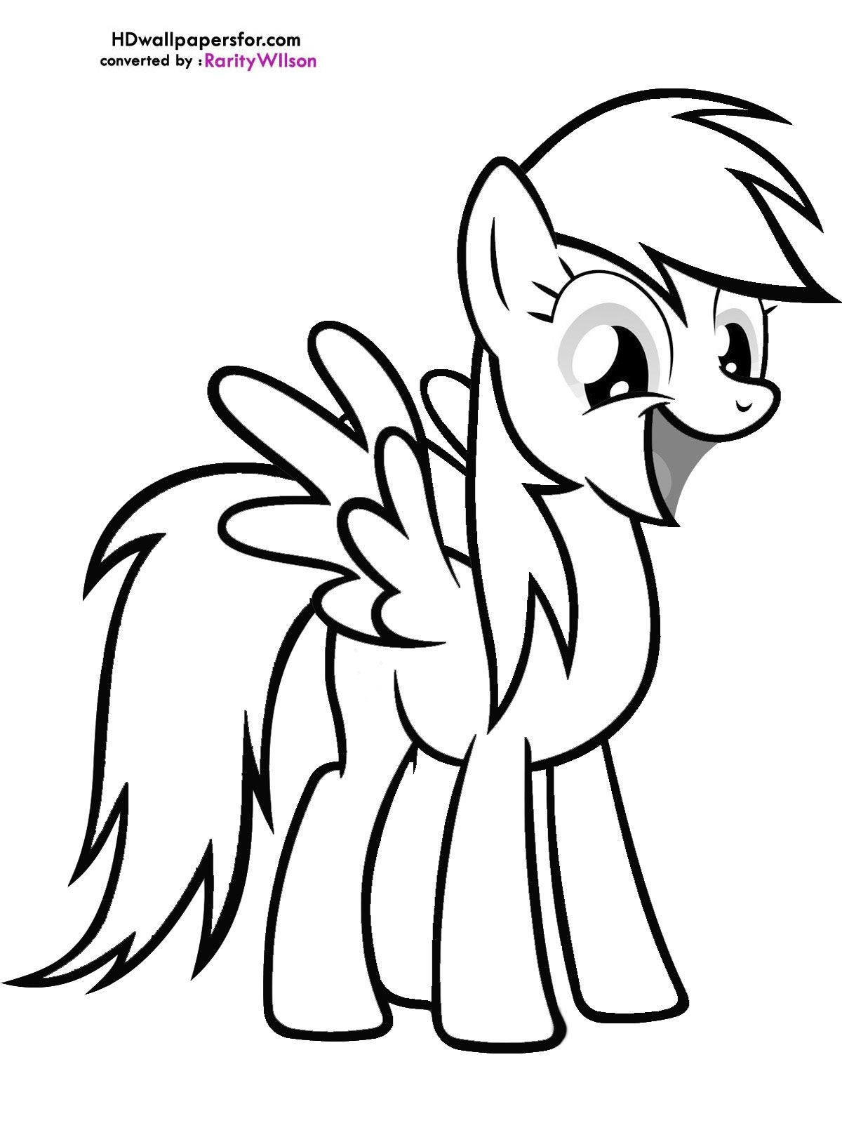 My Little Pony Coloring Pages Derpy