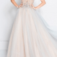 Awesome white prom dress long of course by terani couture uc