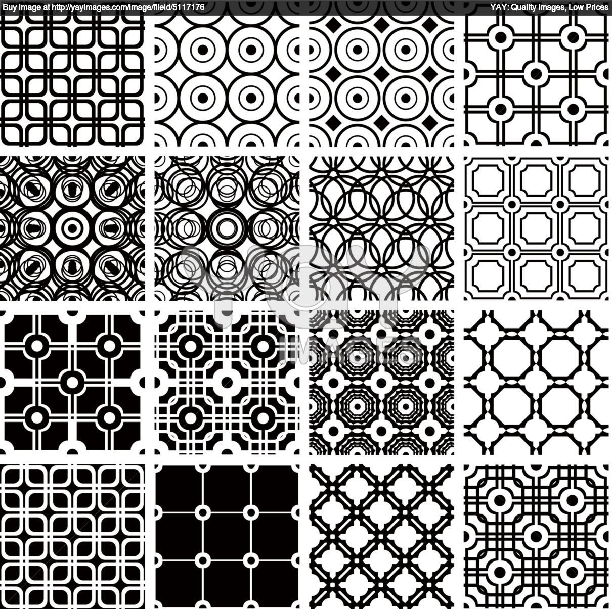 Set Of Geometric Seamless Patterns 4e14f8 Quilt Patterns Coloring