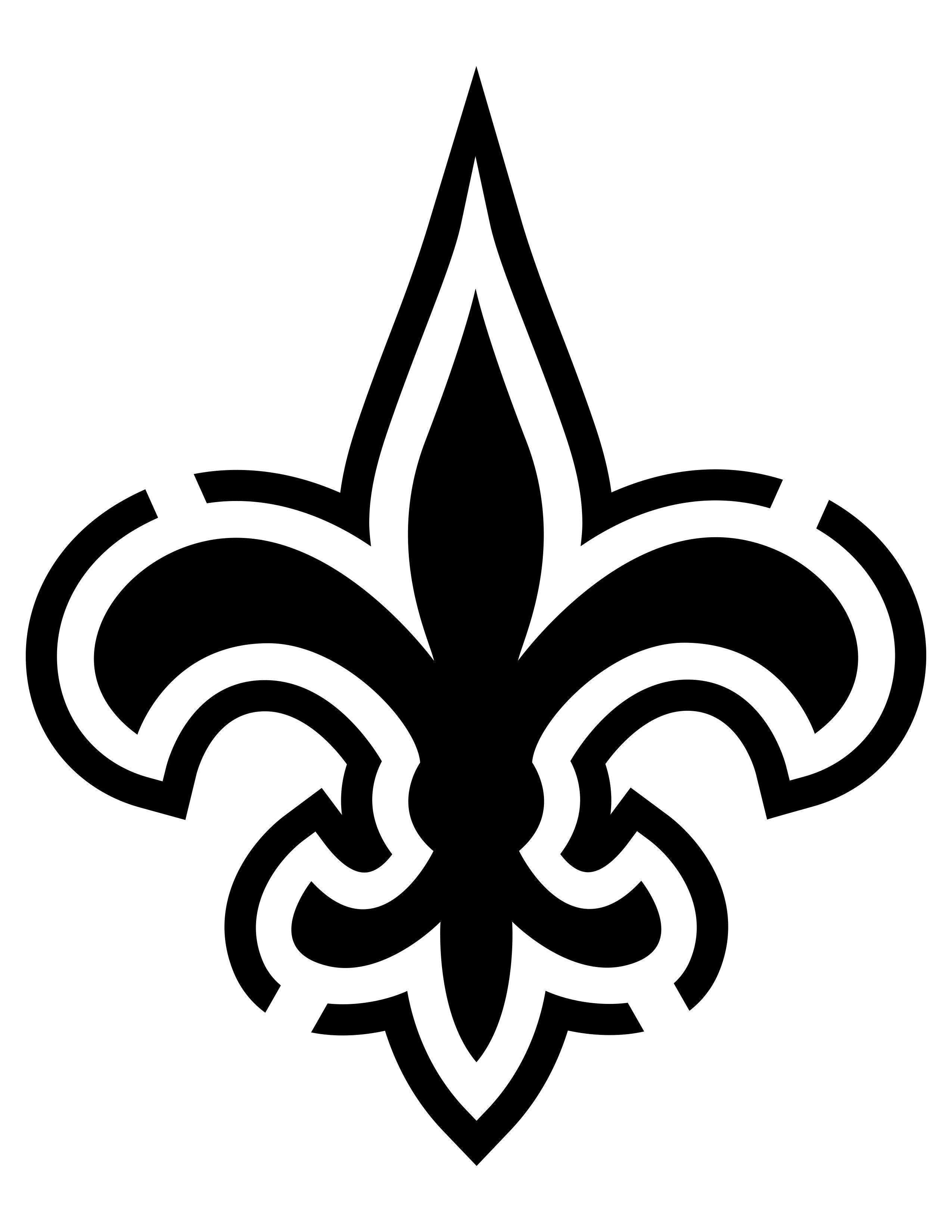 Image Result For New Orleans Saints Stencil
