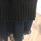 Free people sweater dress black sweater dress sheer material and