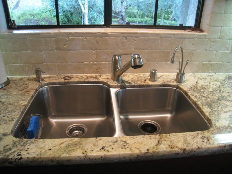 sienna bordeaux granite counters and subway tile ... on Typhoon Bordeaux Granite Backsplash Ideas  id=15035