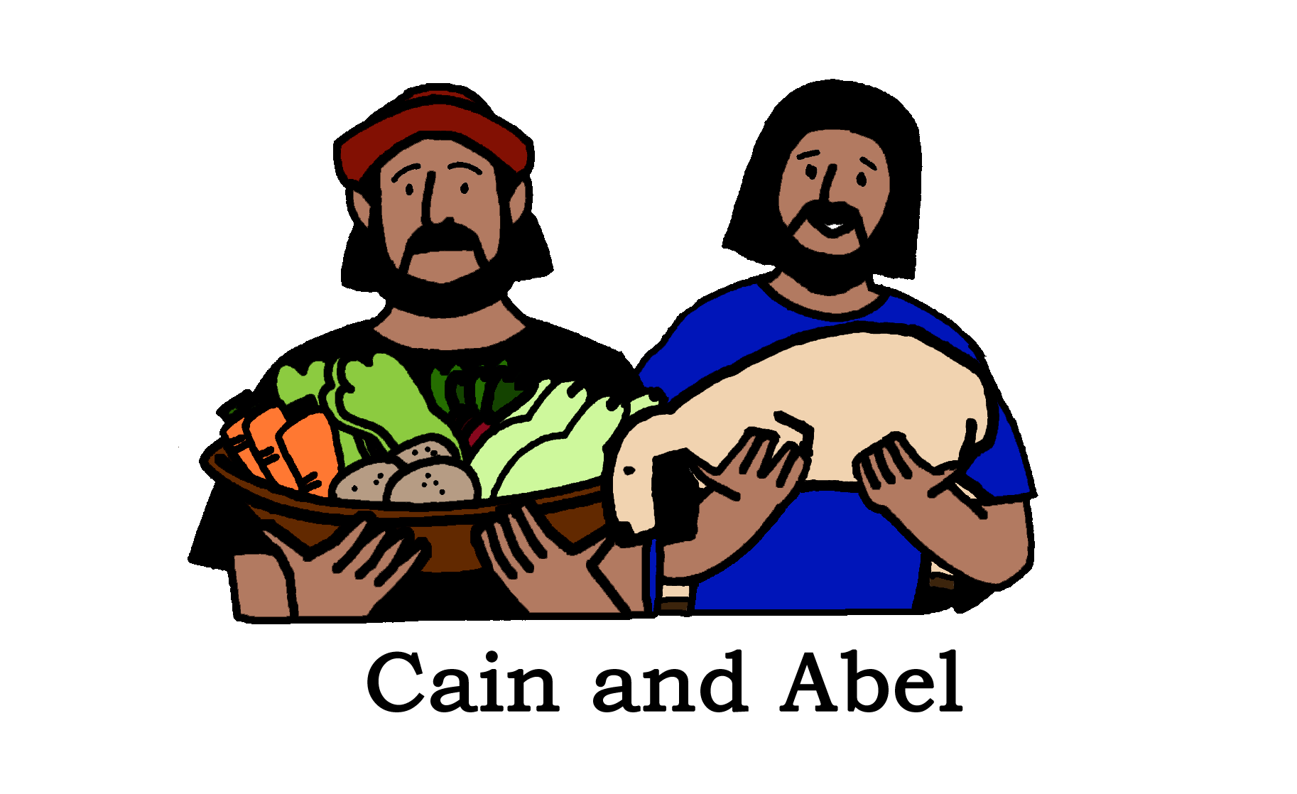 Clip Art Cain And Able Cliparts
