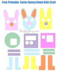 free printable easter crafts for kids - Free Printable Crafts For Kids