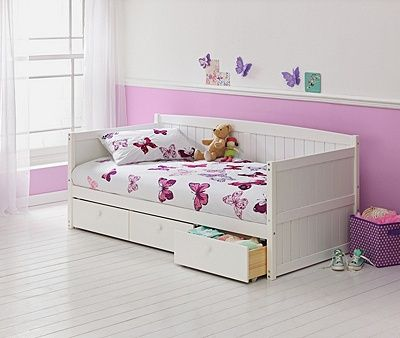 Marnie Single Day Bed Frame With Ashley Mattress At Argos Co Uk