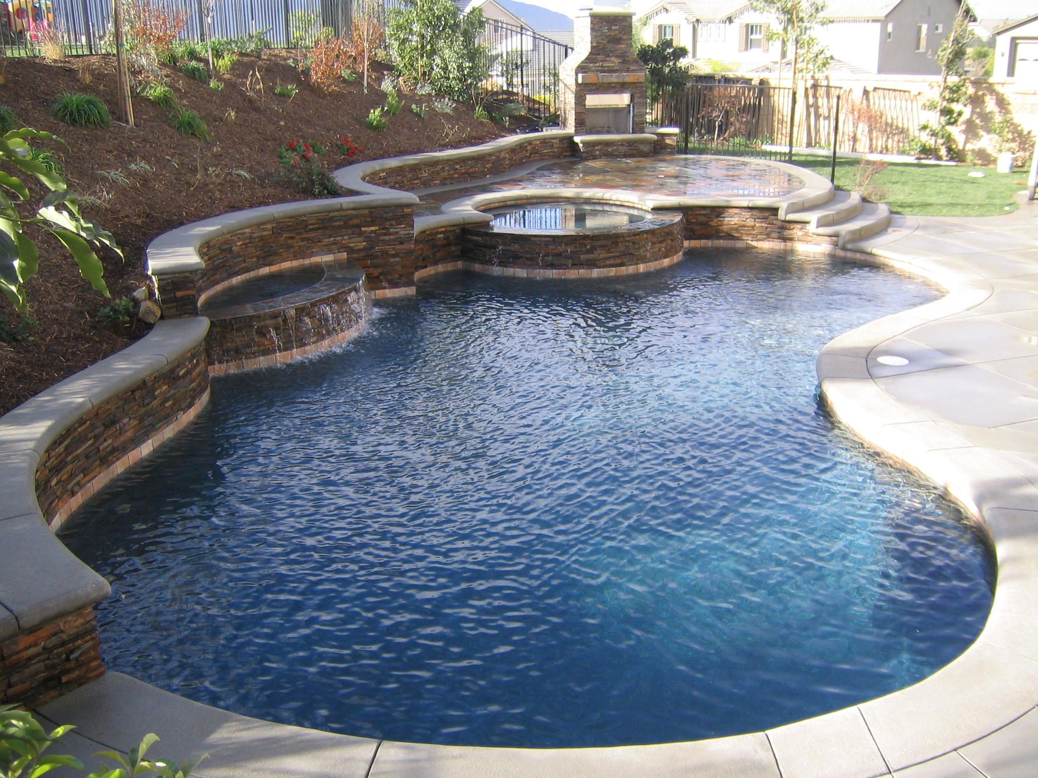 Pools For Small Backyards   Backyard Ideas on Backyard Pool And Landscaping Ideas id=45307