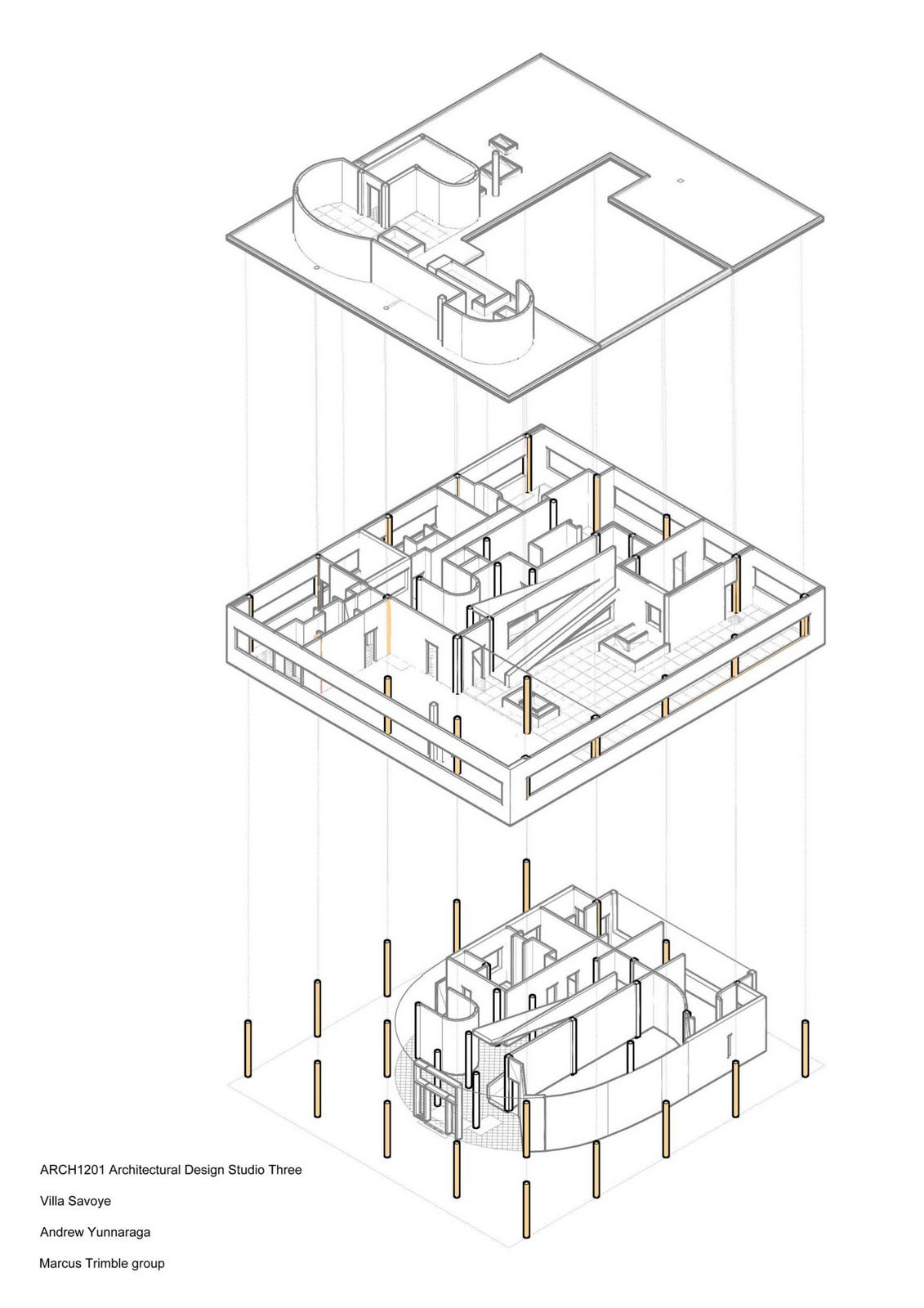 Villa Savoye Structure 3d 1 1 131 1 600 Pixels