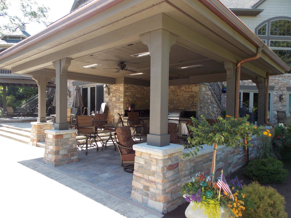 photos of outdoor living   the addition of hardscaping is an