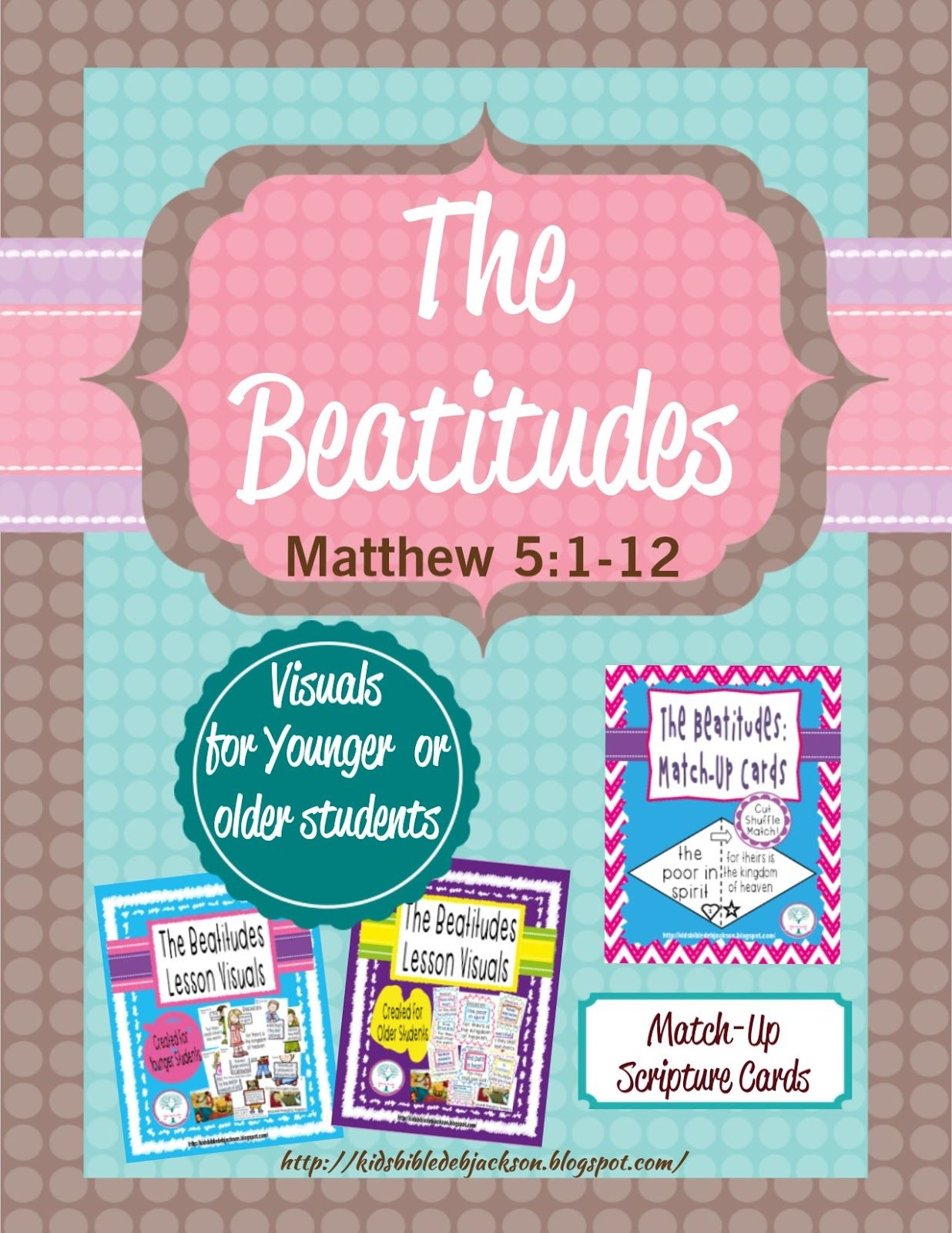 The Beatitudes Lesson Visual Amp More