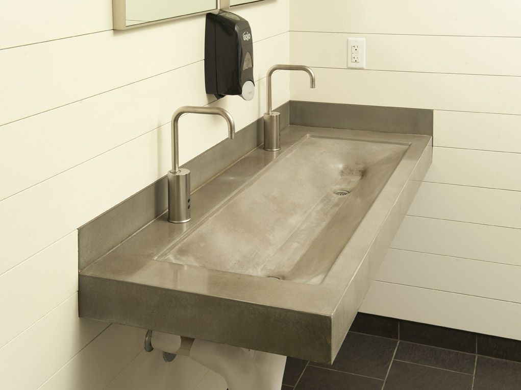 www.greyrockconcrete | bathroom sinks | pinterest | trough