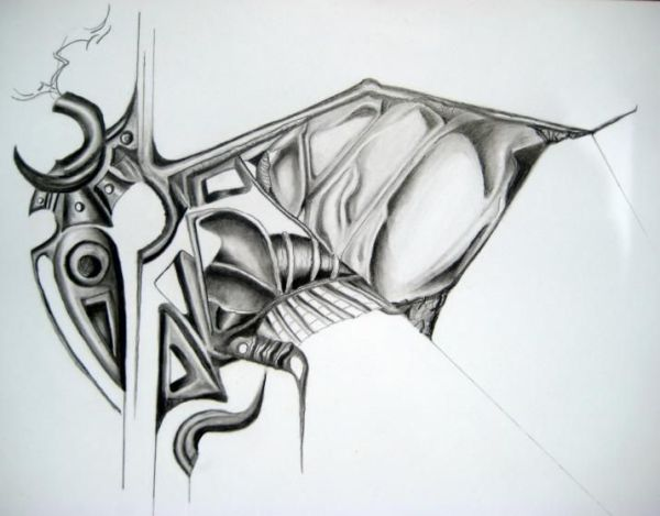 Cool Abstract Drawings Cool Abstract Pencil Drawings ...
